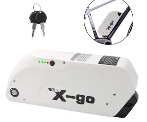 X-go Electric Bike Battery, 48V 12AH