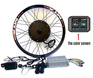 theebikemotor 3.2″ TFT LCD+3000W Hi Speed Electric MTB Bicycle E Bike Hub Motor Conversion kit